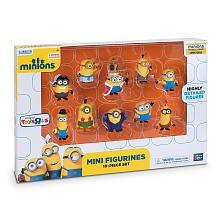 lilah Minions Movie  Minion Made 10 Piece Figure Set