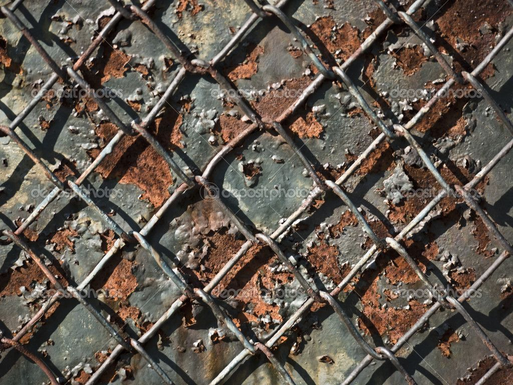 Broken Chain Link Fence Background 9 Steampunk Shoot