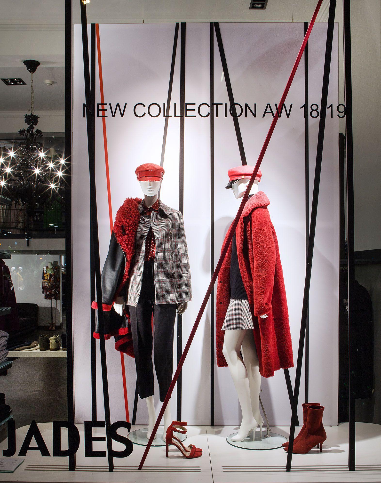 Fashion Stars Stripes Aw18 19 Windows At Jades In Duesseldorf Credits Store Jades Duesseldorf Www Jades24 Com Concept Realisat Fashion Star Fashion