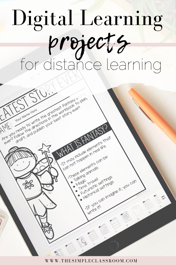 Photo of Digital Writing Projects — The Simple Classroom
