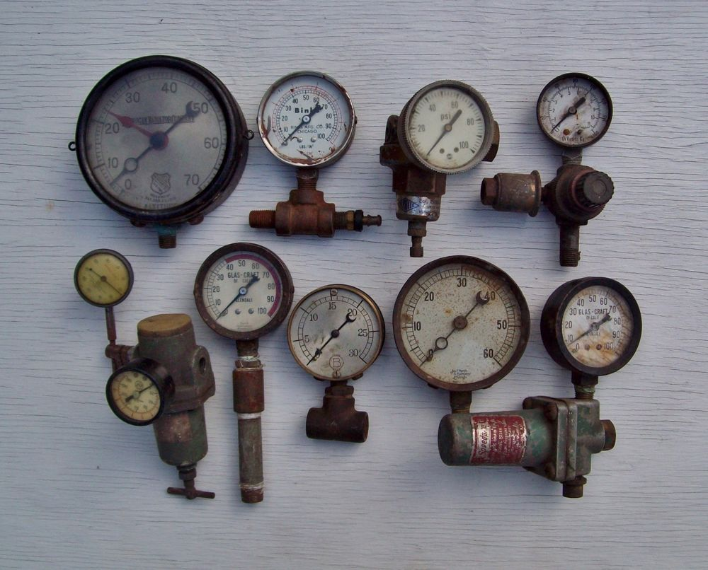 Vintage antique steam pressure gauges steampunk lot of 10 pressure vintage antique steam pressure gauges steampunk lot of 10 altavistaventures Gallery