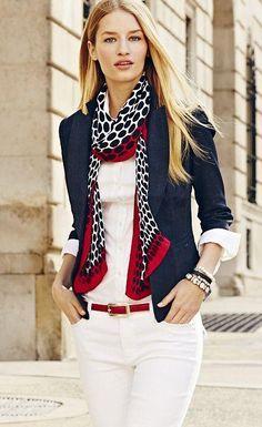 e339e9c1533d Formas de usar pañuelos y verte elegante | Belleza | pañuelo | Ropa ...