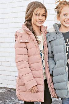Удлиненная дутая куртка (3-16 лет) | мое | Pinterest