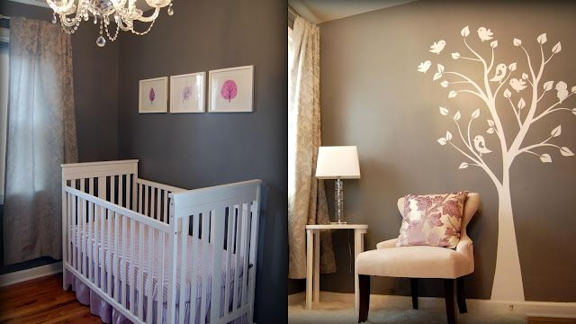 Perfect baby girls room