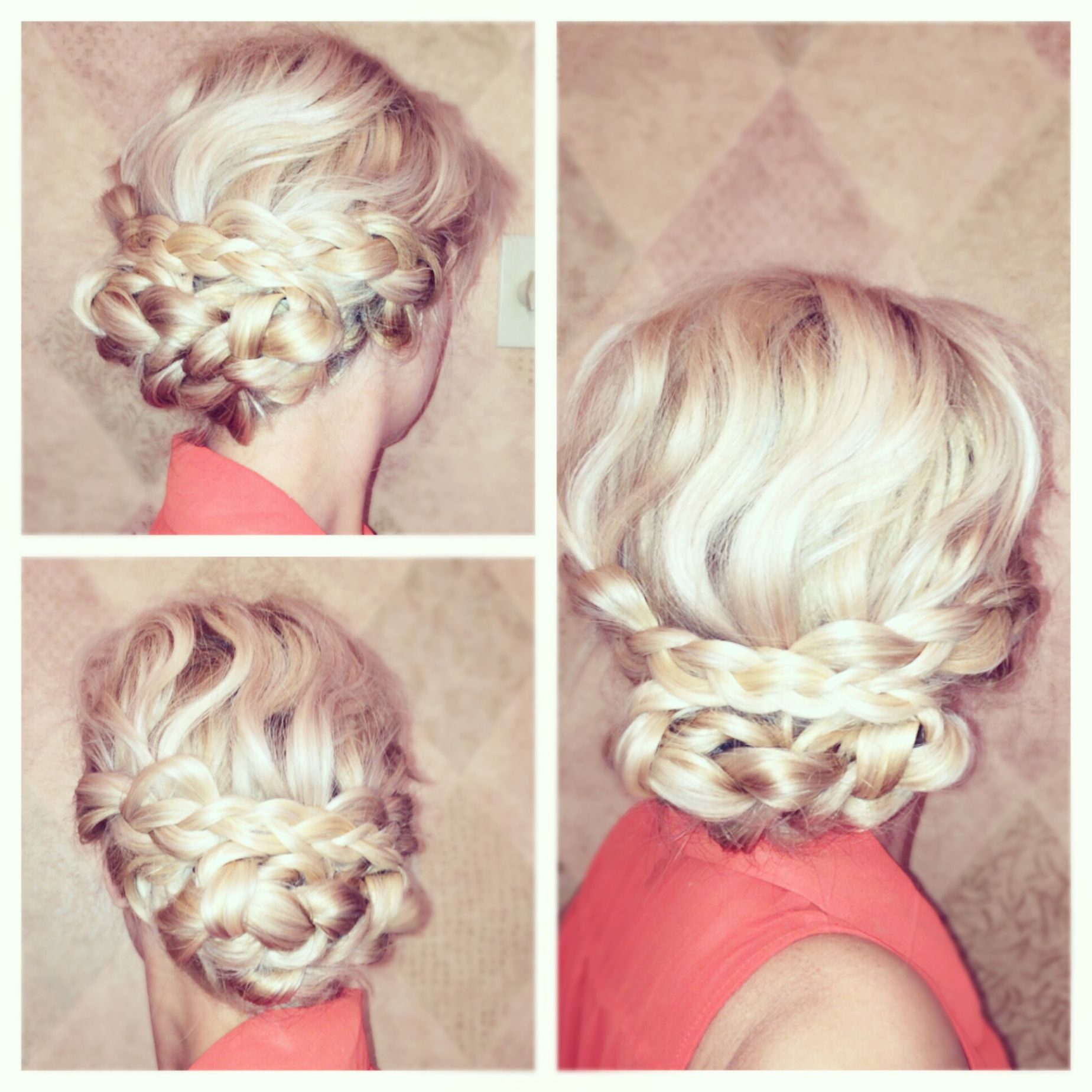 Easy braided updo a beauty and lifestyle blog hair tutorial braids