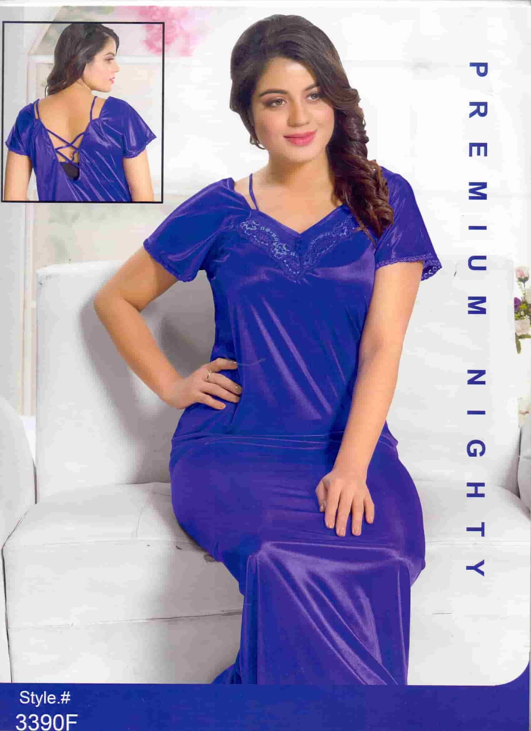 96d516a31 Nighty for Honeymoon Night Dress for  First Wedding Night