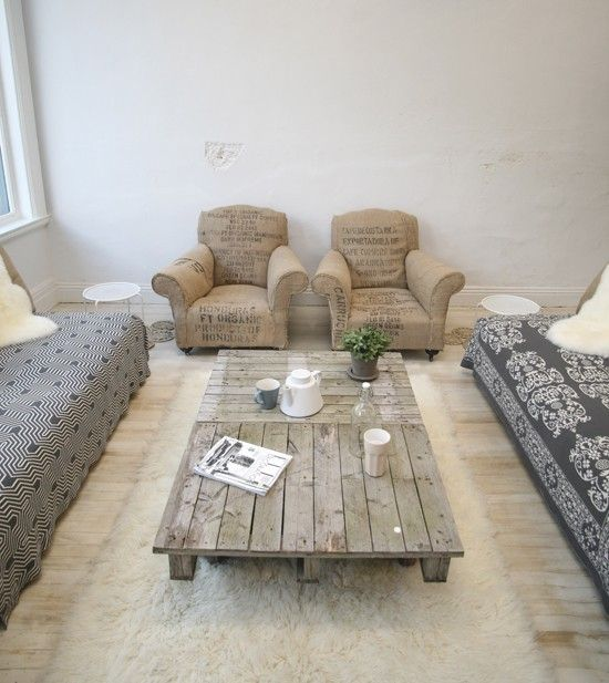 Pallet Coffee Table Furniture Pallet Furniture Coffee Bean Bags