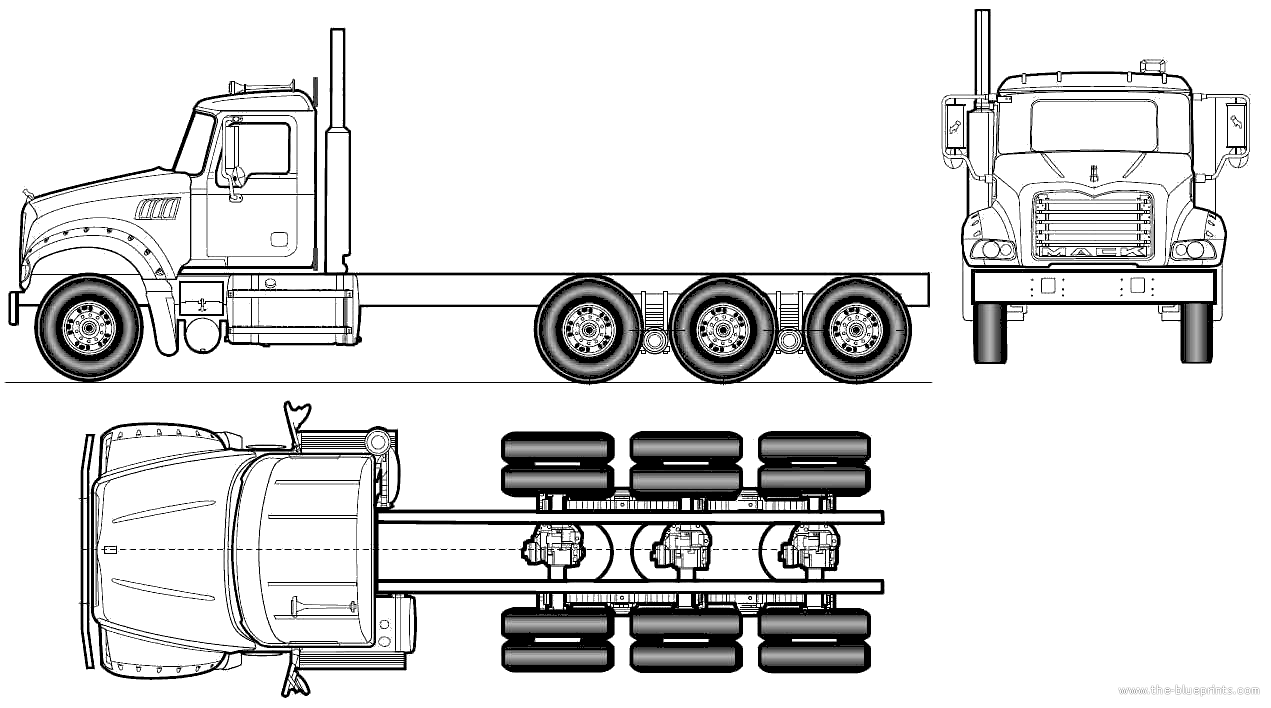 Blueprint truck mack google search proyecto pinterest blueprint truck mack google search malvernweather Gallery