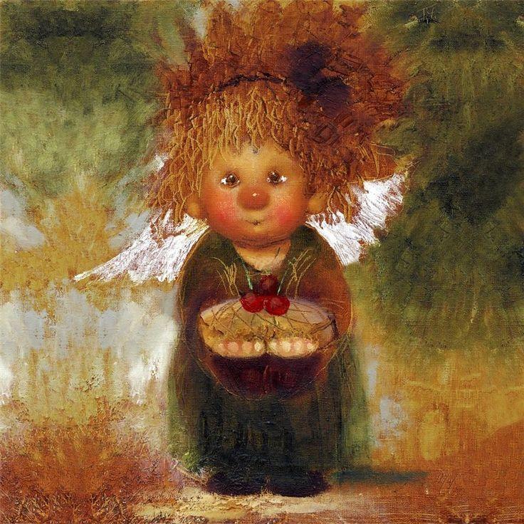 Благодарностью, картинка с рыжей девочкой с днем рождения
