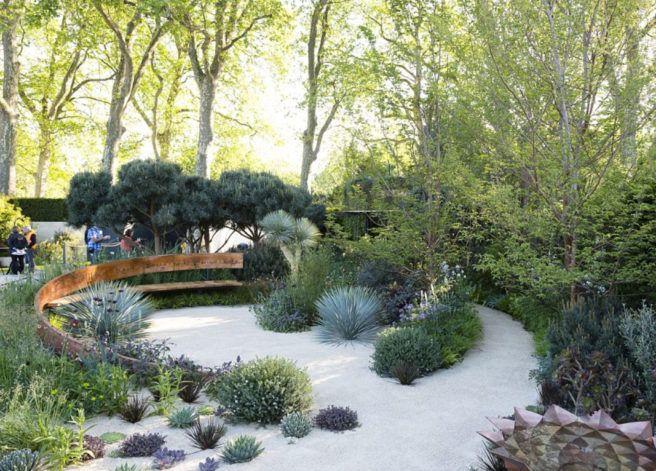 Ideas para diseñar un jardín sin césped Jardines sin césped