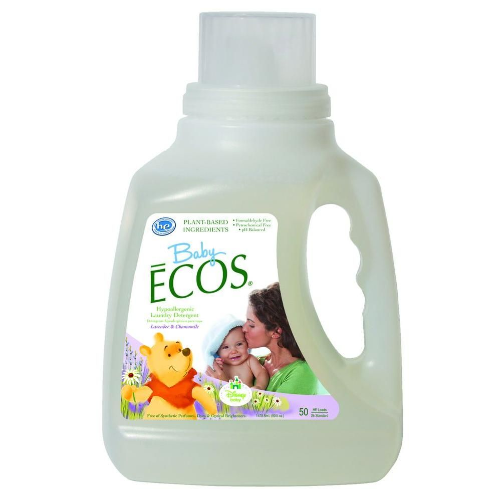 Ecos 50 Oz Disney Baby Lavender And Chamomile Liquid Laundry
