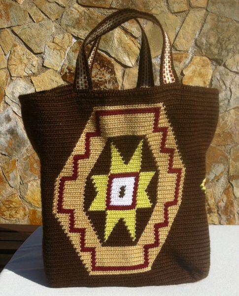 Bolso de Asa tipo Wayuu