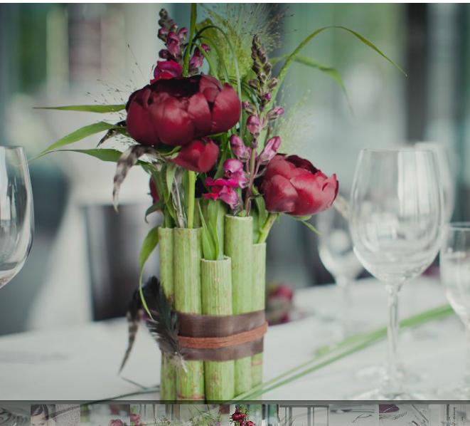 Tischdeko hochzeit rosa grafan - Tischdeko gunstig ...