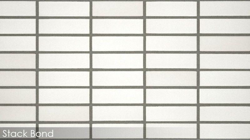 Stack Bond Tile Pattern Google Search Patterned Bathroom Tiles Tile Patterns Brick Bonds