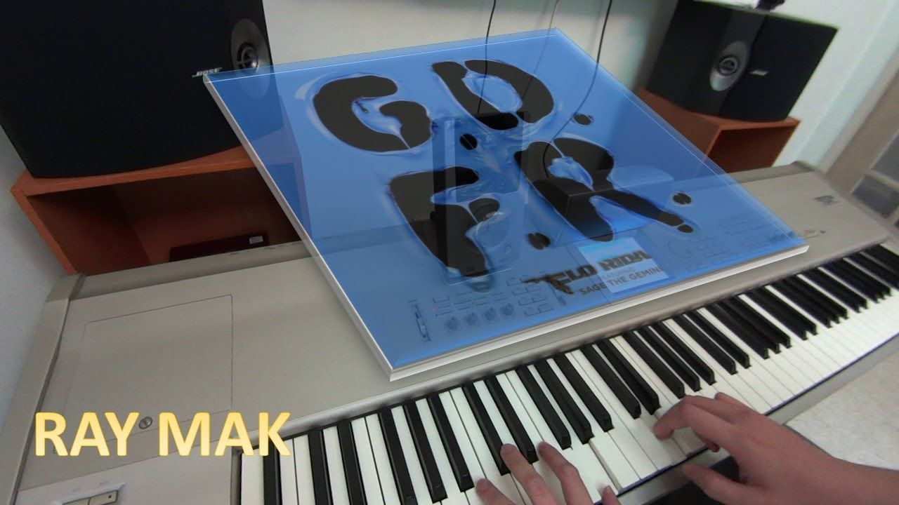 Flo Rida ft. Sage The Gemini and Lookas GDFR Piano by