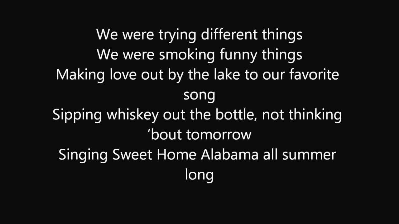 Kid Rock - All Summer Long (LYRICS) - YouTube | Kid rock ...