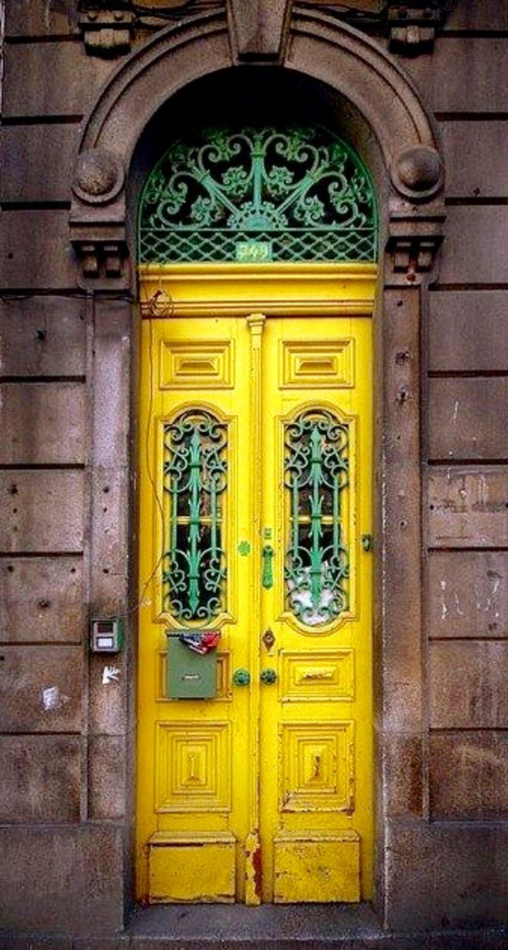 Yellow open the doors to my imagination pinterest doors