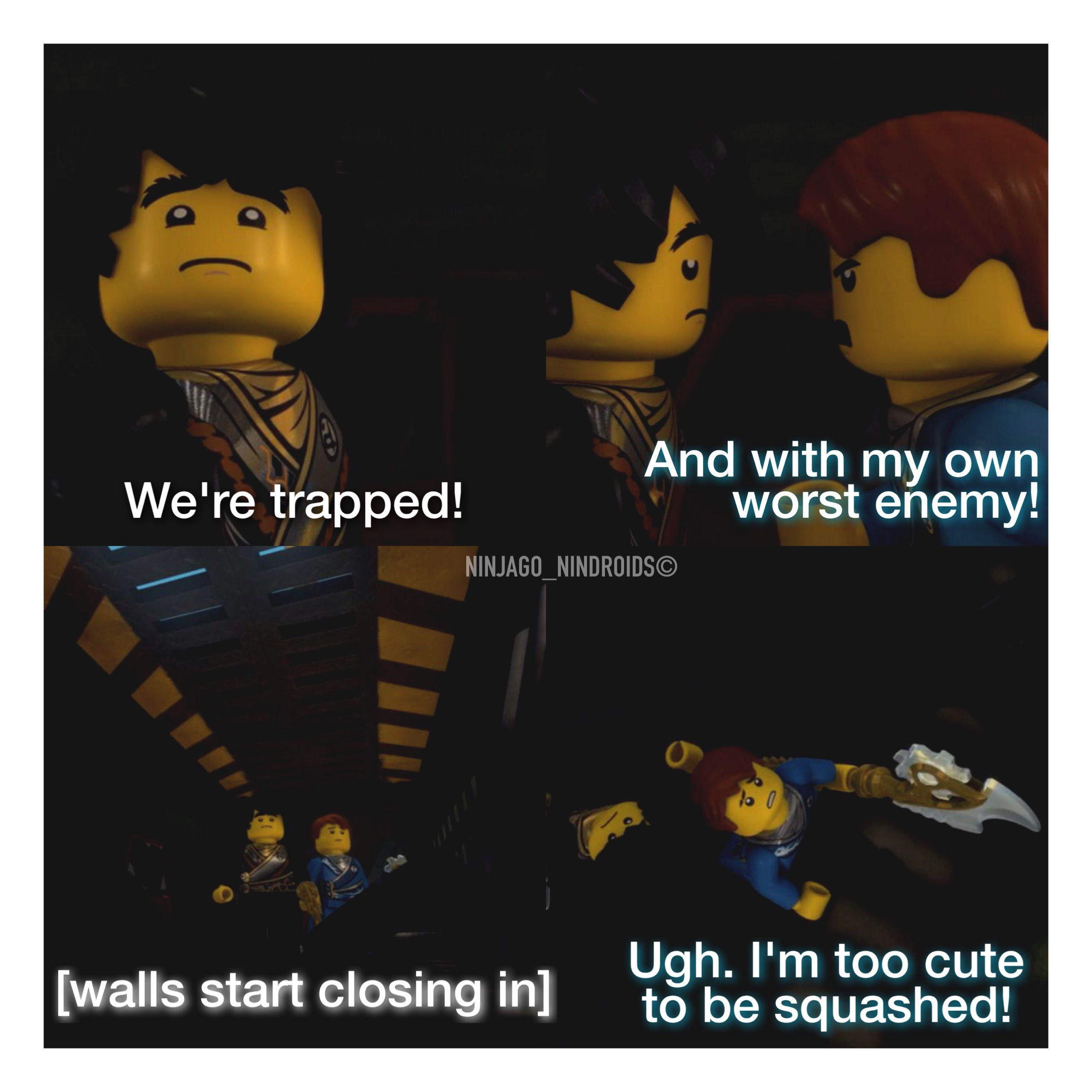 Pin By Meaghan Bailey On Ninjago Theme Ninjago Memes Lego Ninjago Lego Ninjago Movie