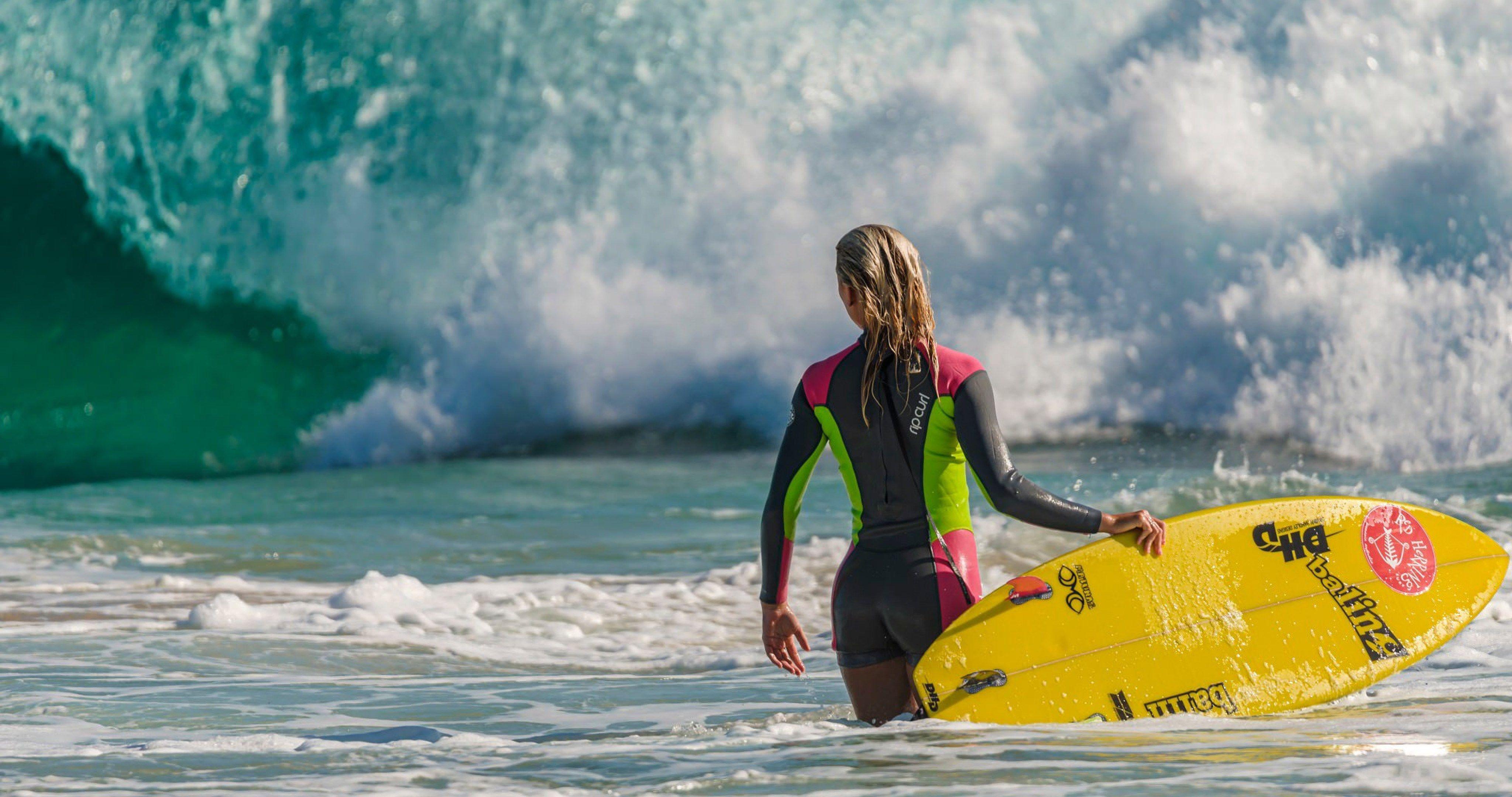 Surf 4k wallpaper
