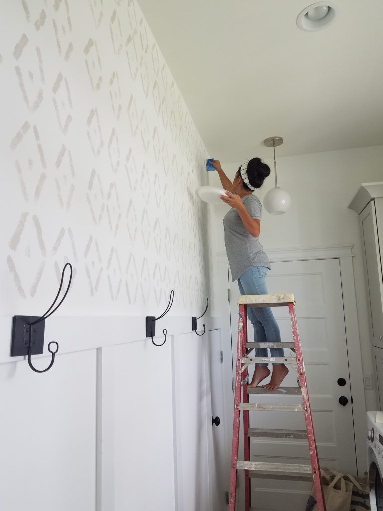 Diy Sponge Wall Accent Wall Paint Diy Accent Wall Home Decor