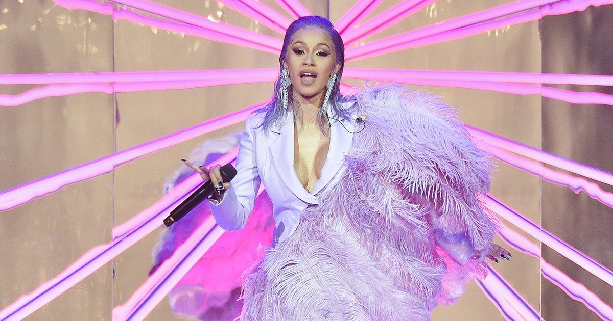 Cardi B Takes Peacocking To New Extremes In 2019