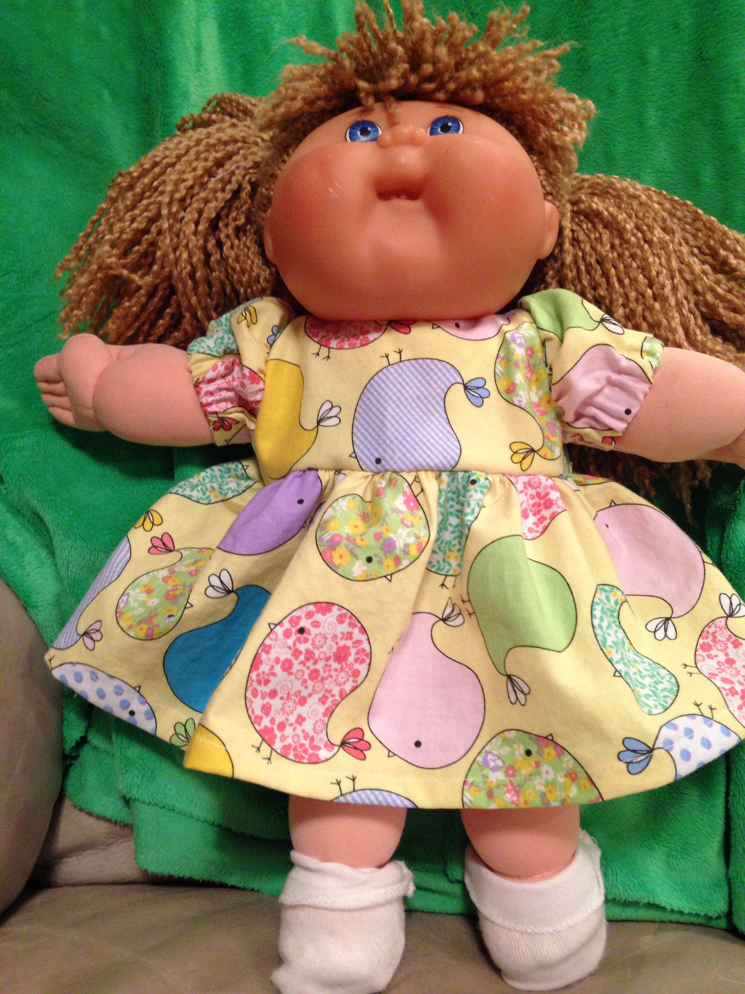 Doll dress / cabbage patch clothes | Stuff I\'ve made - glitterdotsok ...