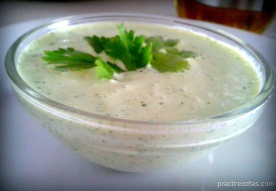 Aderezo Cilantro con yogurt Griego!!