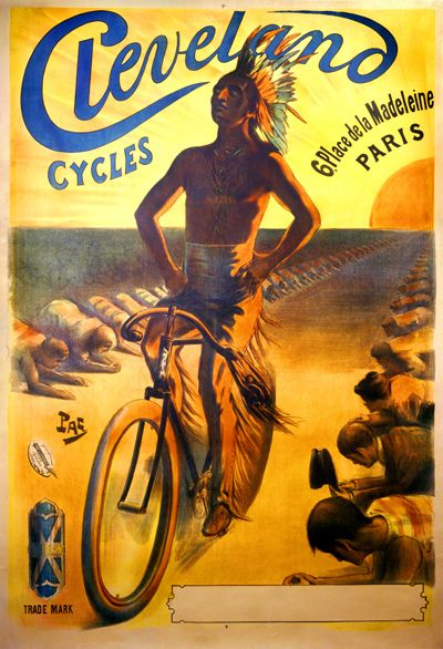 Cleveland Cycles Poster