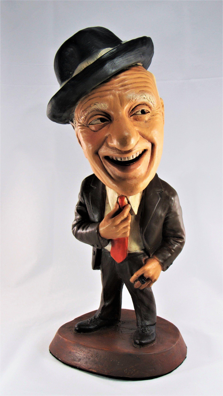 Jimmy Durante Chalkware Statue Original ESCO Huge 17