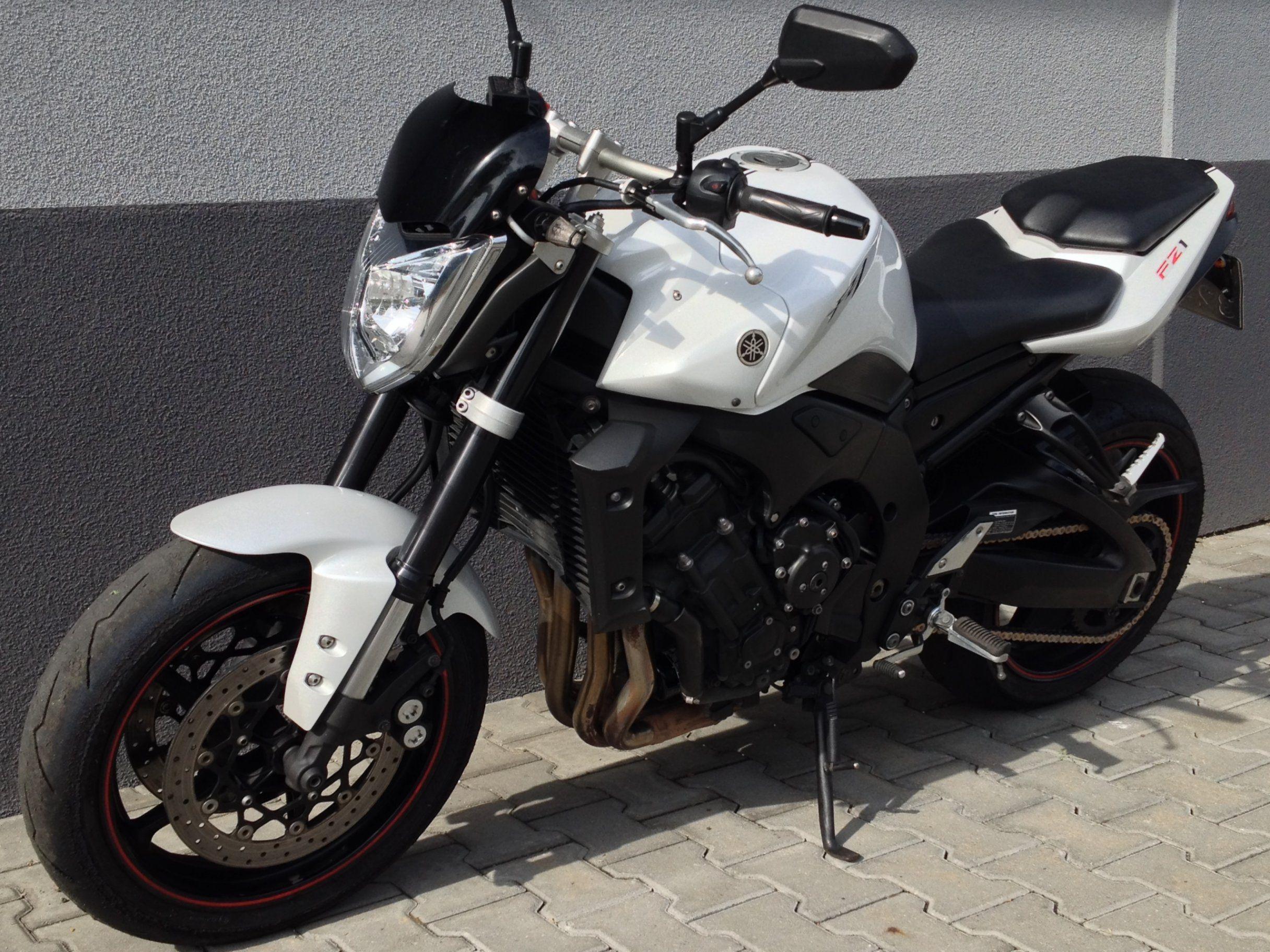 Yamaha Fz1n 2010 Rok Fz 1n Biala Perla Alarm 6287911797 Oficjalne Archiwum Allegro Motorrad