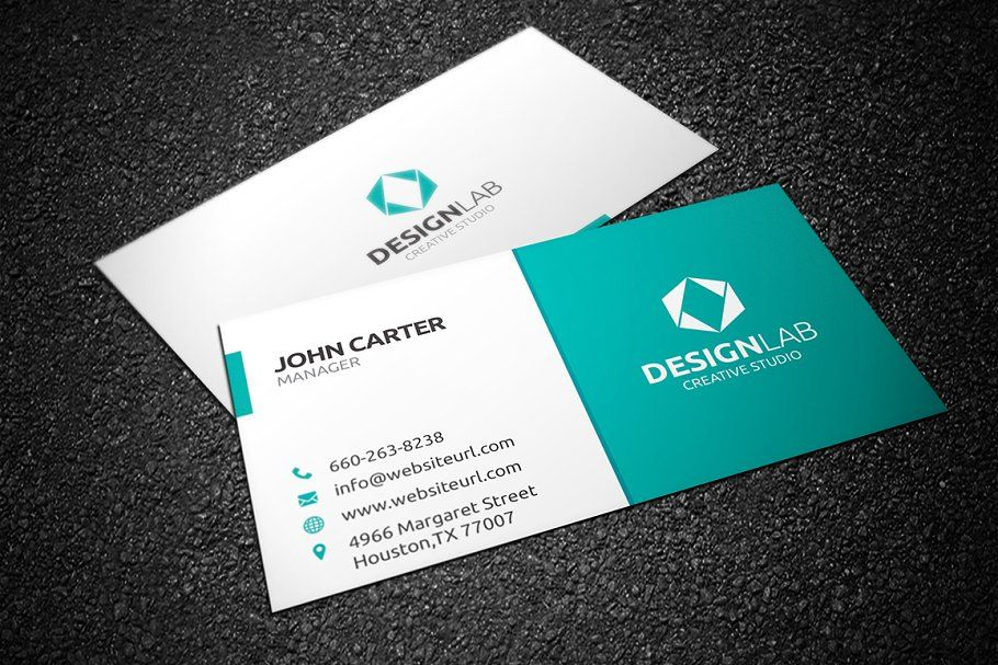 Simple Clean Business Card Clean Simple Business Templates Cleaning Business Cards Cool Business Cards Business Card Template