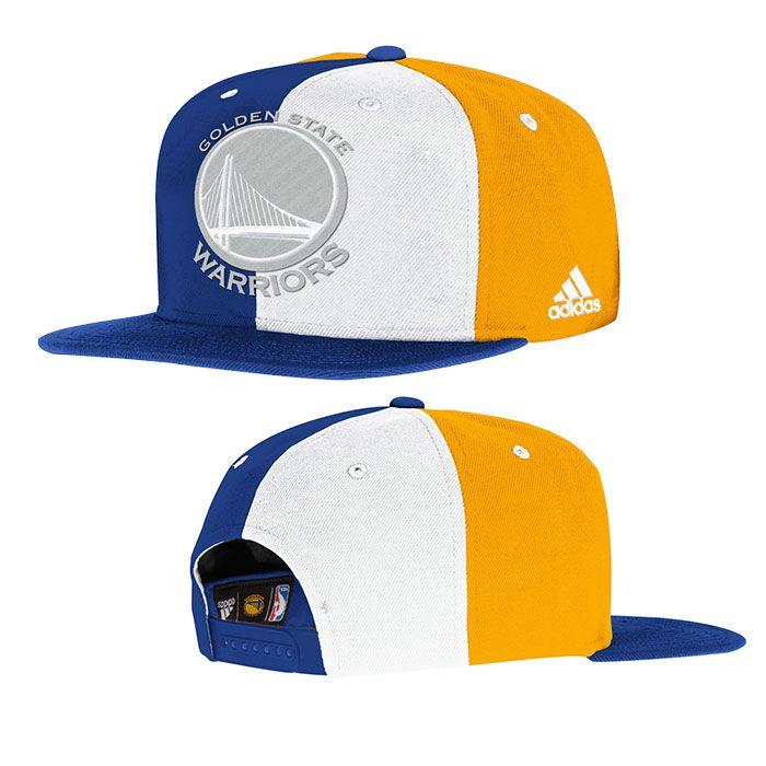 Golden State Warriors adidas Snapback Multi Colored Cap  3d66d9a73d0