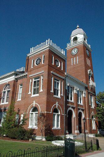 Bainbridge GA Decatur County Courthouse w/Clock Tower