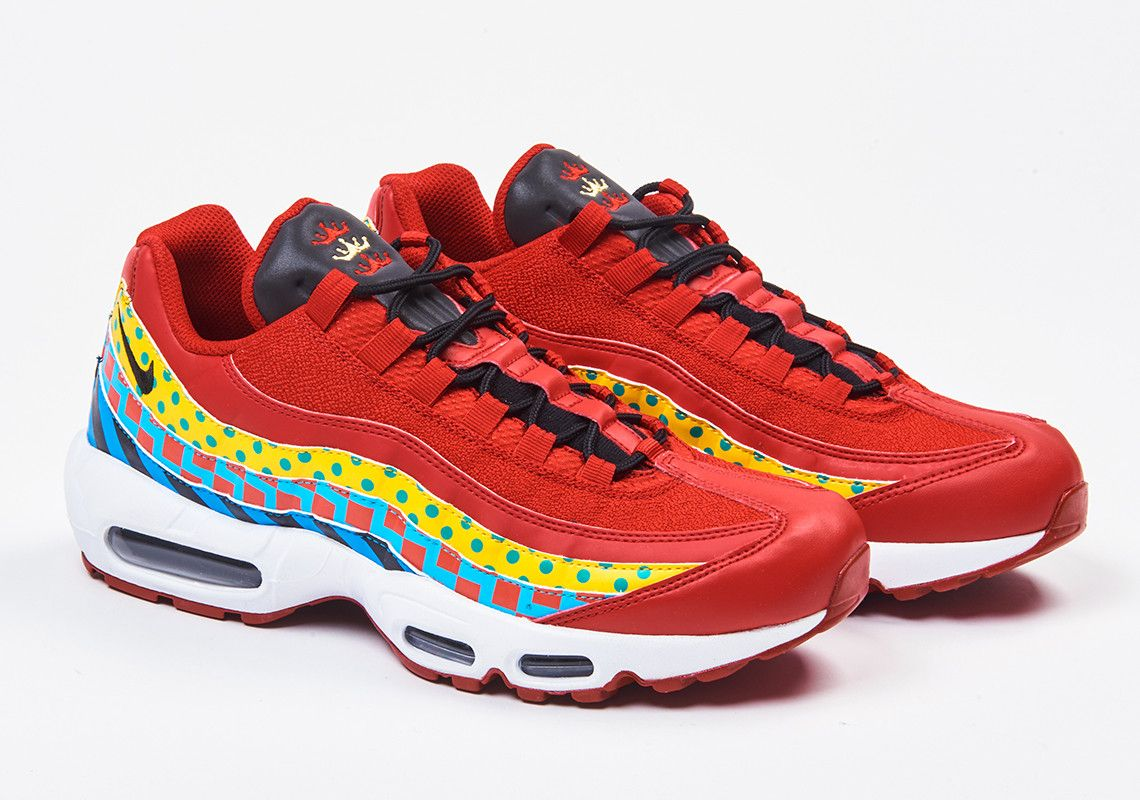 new styles 62798 2b7fc Foot Lockers Latest Home And Away Pack Nods To Baltimore With Two Nike Air  Max 95s