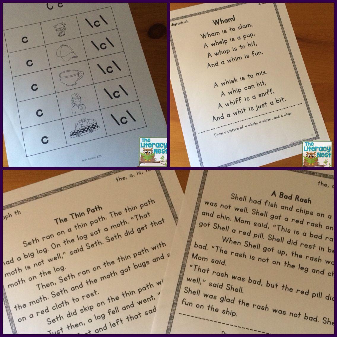 Orton Gillingham Based Stories Level 1 Decodable Reading Passages