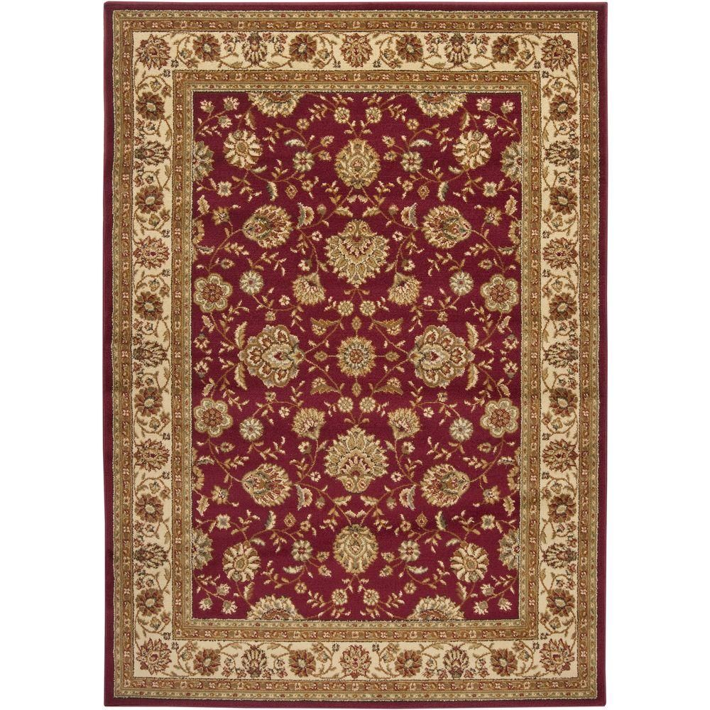 Hallway carpet runners sold by the foot  Midtown Burgundy Red  ft  in x  ft  in Indoor Area Rug