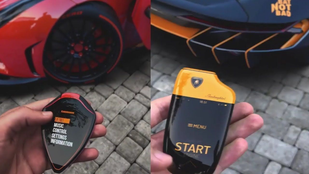 Top 10 Coolest Supercar Touch Keys Concept Keys Of Sports Car