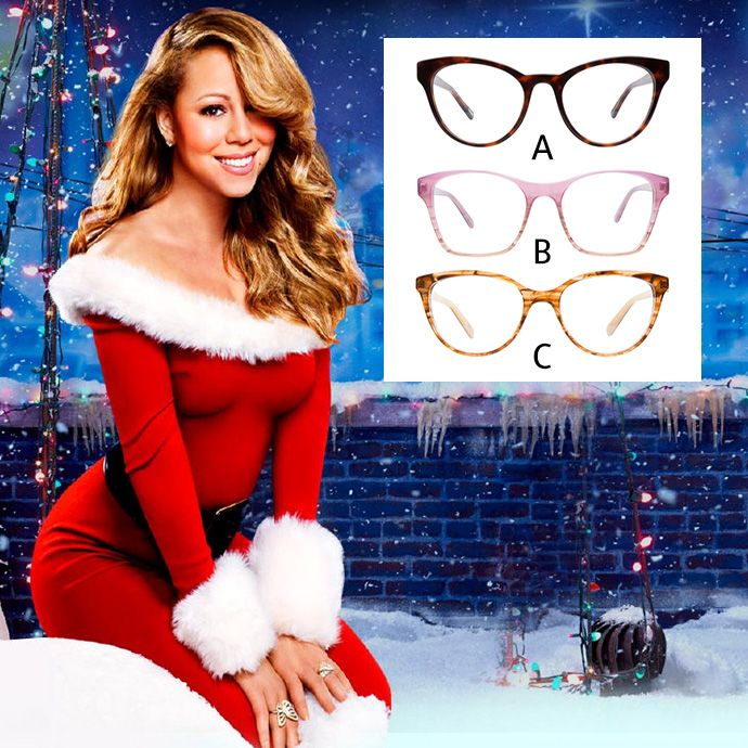 All Mariah Wants For Christmas Is A Pair Of Frames Which Style Should She Go For Mariah Carey Christmas Best Christmas Songs Classic Christmas Songs