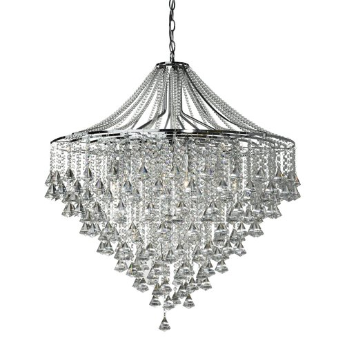 Searchlight Dorchester 7 Light Crystal Chandelier In 2019