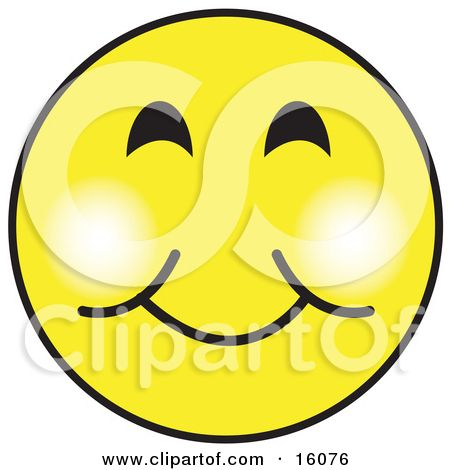 free vector graphic of a cartoon styled smile face with big wide rh pinterest com Thank You Smiley Face Clip Art Animated Smiley Face Clip Art