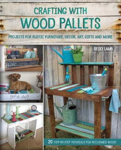 Beyond The Picket Fence Crafting with Wood Pallets GIVEAWAY - ideas con palets