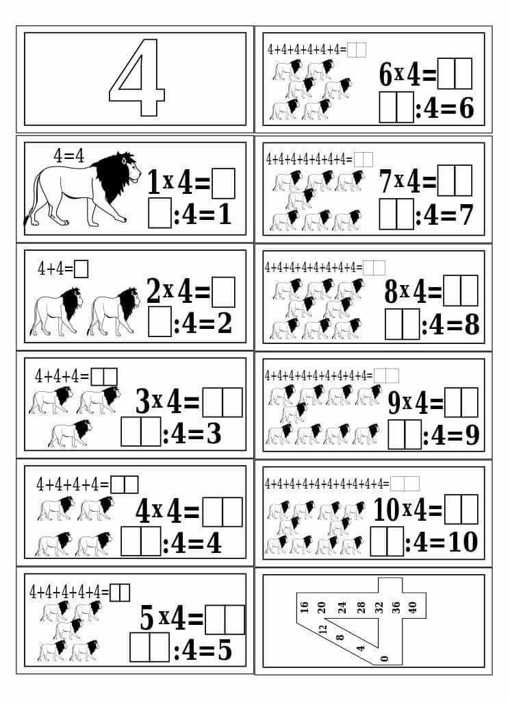 Pin by Núria Alcaraz on mates | Pinterest | Math, Multiplication and ...