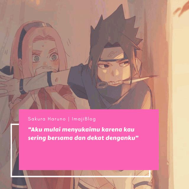 Quote Mutiara Sakura Haruno Kata Kata Mutiara Animasi Buku Remaja