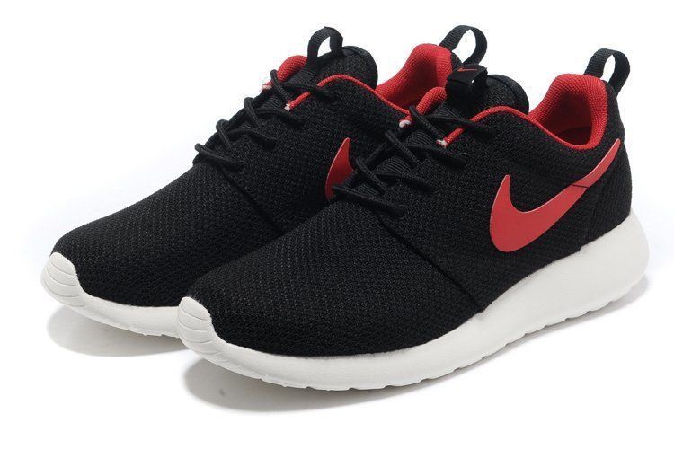 Nike Roshe Run Print Homme Bleu blanc rouge