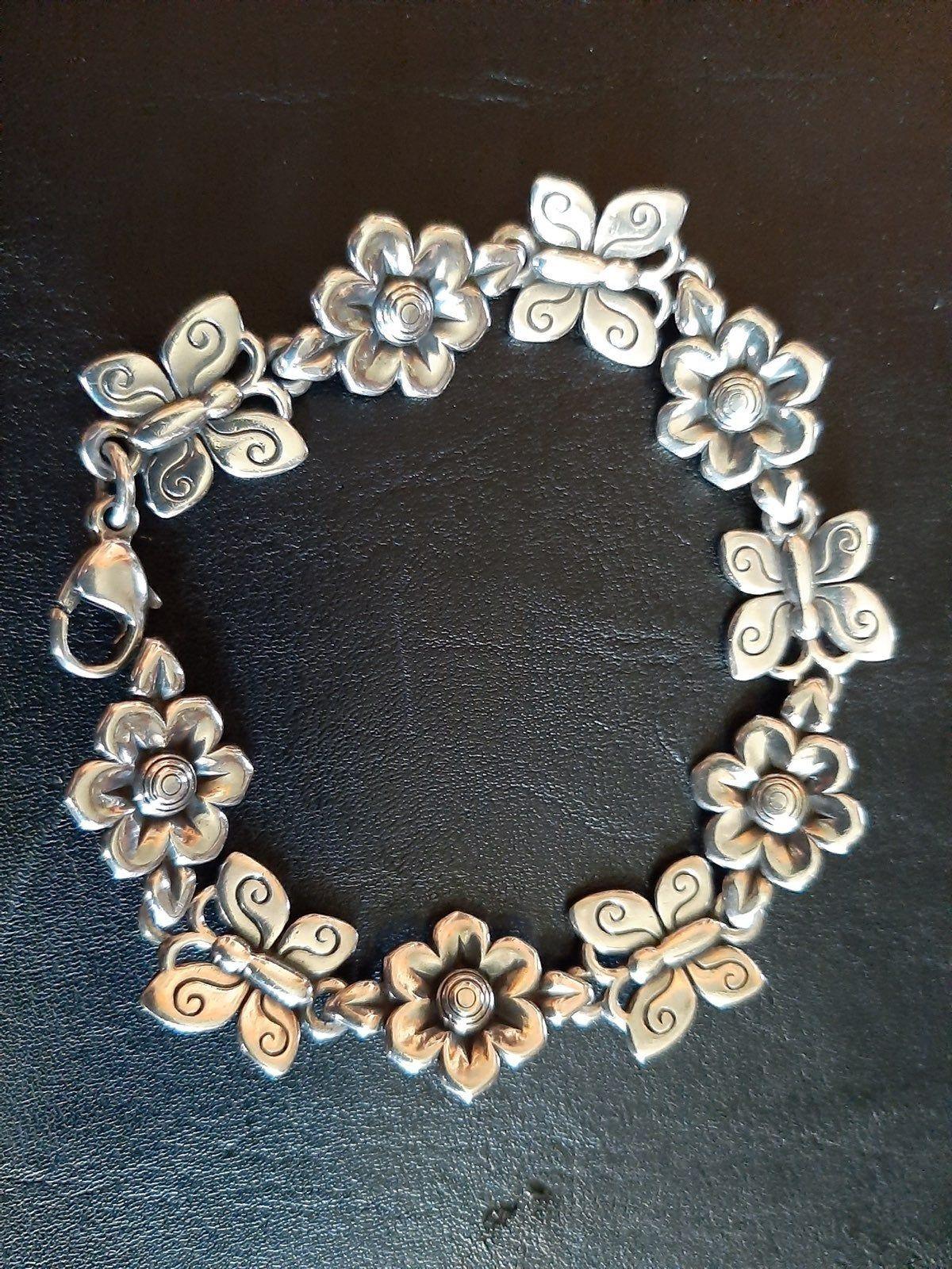 James avery flowerbutterflies bracelet in 2020 james