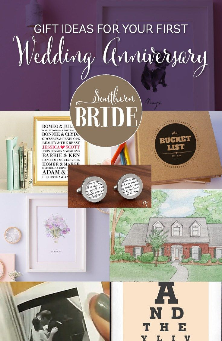 1st Wedding Anniversary Present Ideas Anniversary Ideas