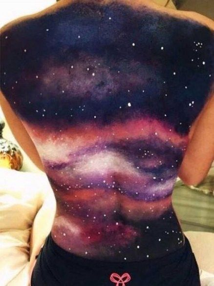 Pin By Carina Leigh On Galactic Babyyyy Body Art Painting Body Painting Tumblr Body Art