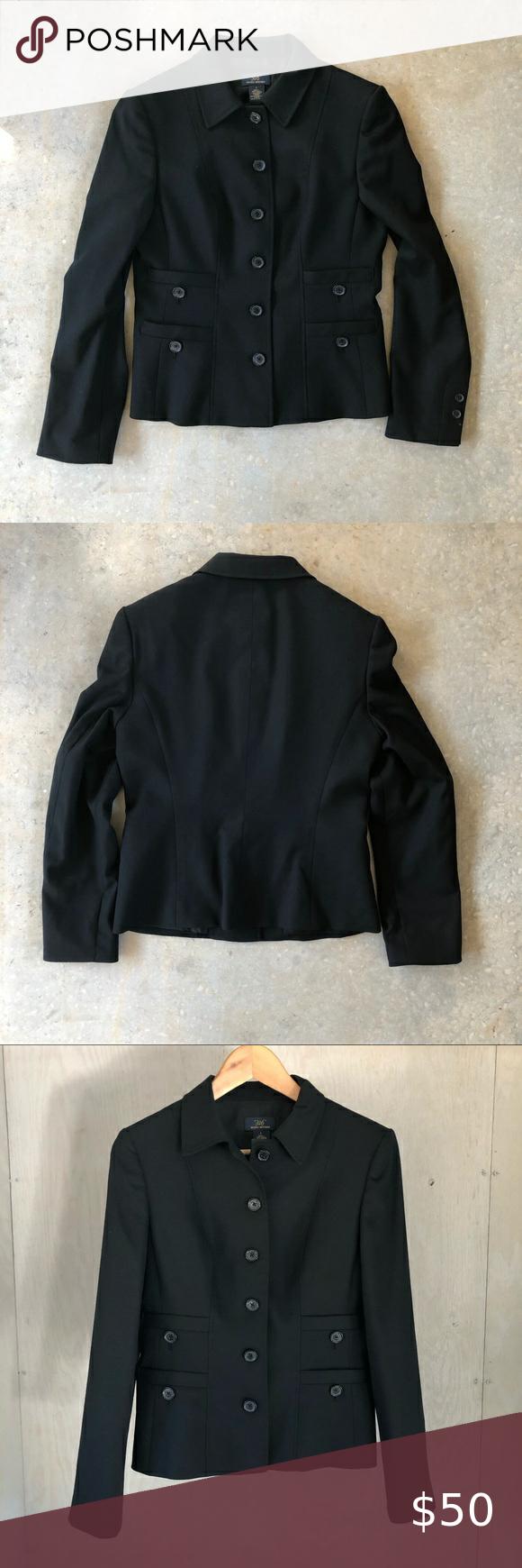 346 Brooks Brothers Front Pocket Wool Blazer Wool Blazer Colored Blazer Clothes Design [ 1740 x 580 Pixel ]