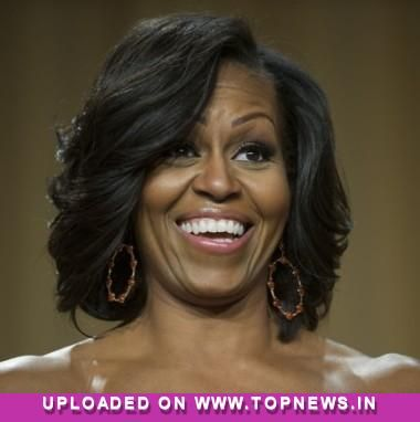 Michelle obamas lovely winged hair relaxed n regal pinterest michelle obamas lovely winged hair pmusecretfo Images