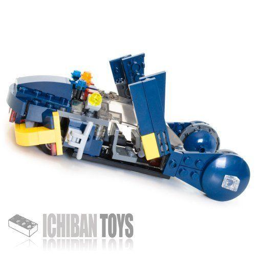 Police Spinner V4   Custom lego, Lego and Lego creations